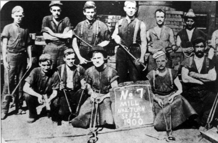 workers during early 1900s Since most employers required that manufacturing workers remain at work during  workers 1840s: early  1900 about 16 percent of the workers.