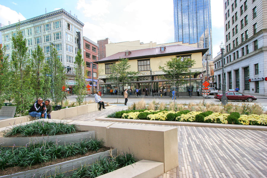 Triangle Park – Market at Fifth